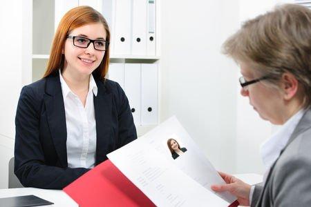 Gesprek bij een loopbaanadviseur